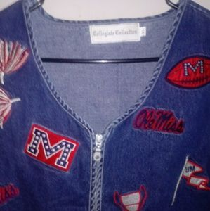NCAA Collegiate Collection Ole Miss Rebels Vest